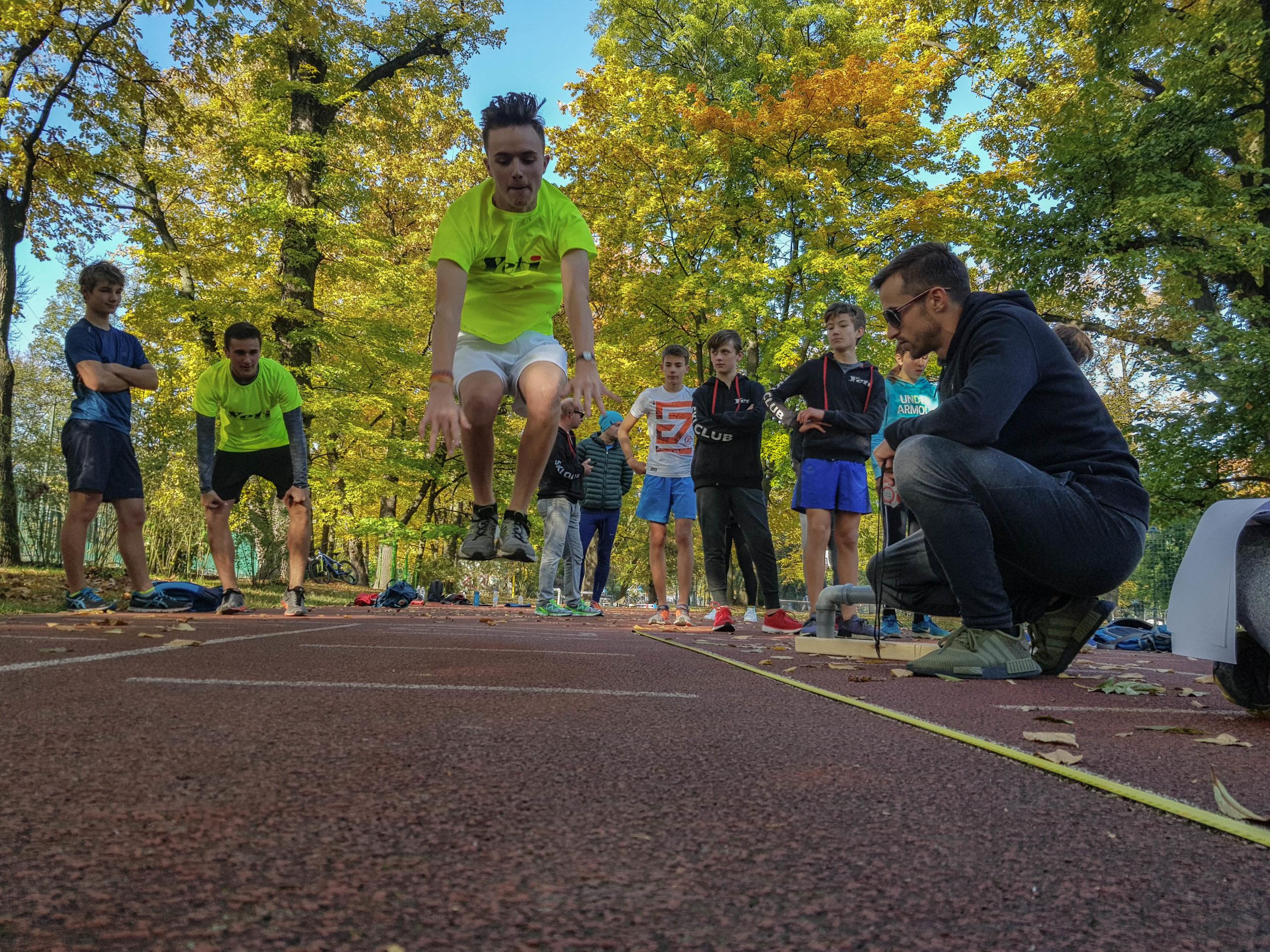 Treningi w Parku Jordana