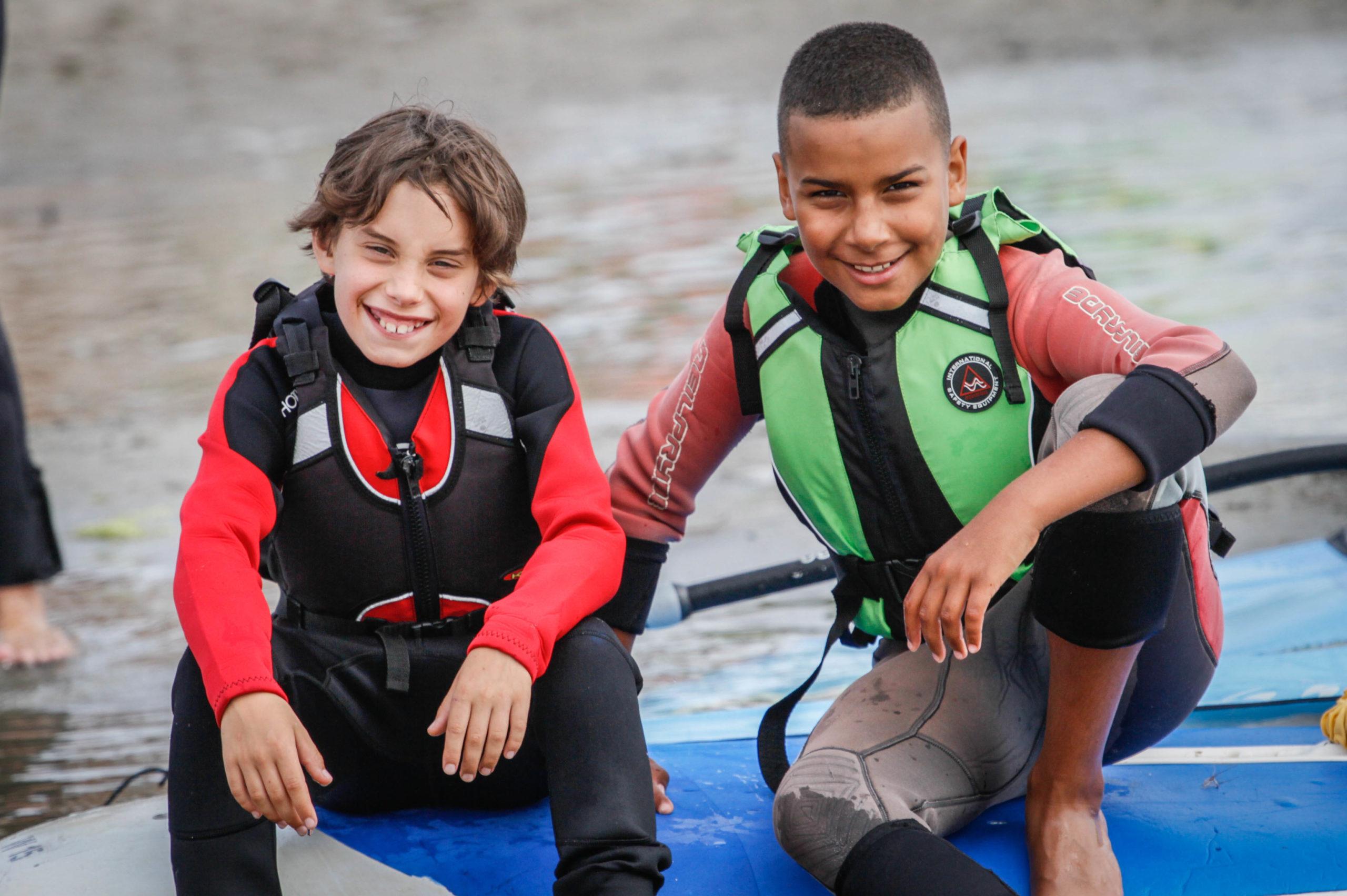 Obóz windsurfingowy (młodsi)